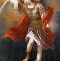 Archangel Michael Hurls The Devil Into The Abyss by Bartolome Esteban Murillo