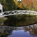 Arched Bridge-somesville Maine by Thomas Schoeller