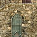 Arched Door And Window by Tsafreer Bernstein