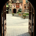 Arched Doorway With A Bavarian View by Anita Hiltz
