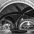 Arched In Black And White by CJ Schmit