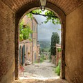 Arched View by Uri Baruch