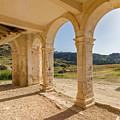 Arches And Stairs Of Derelict Agios Georgios Church by Iordanis Pallikaras