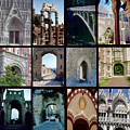 Arches Collage by Cathy Anderson