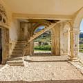 Arches, Entrance And Stairs Of Derelict Agios Georgios Church by Iordanis Pallikaras