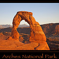 Arches National Park Poster by John Stephens