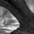 Arches Np Xx Bw  by David Gordon