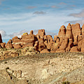 Arches Spires  by Peter J Sucy