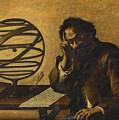 Archimedes by Attributed to Mattia Preti