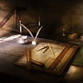 Architect - The Drafting Table  by Mike Savad