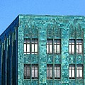 Architectural Abstract Oakland Ca by Ben Freeman