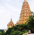 architecture at Wat Tham Sua by Bill Brennan - Printscapes