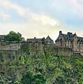 Architecture Edinburgh II by Chuck Kuhn