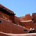 Architecture In Santa Fe by Susanne Van Hulst