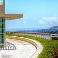 Architecture J. Paul Getty Museum California  by Chuck Kuhn