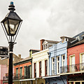 Architecture Of The French Quarter In New Orleans by Enrico Della Pietra