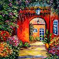 Archway Garden by Beata Sasik