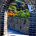 Archway To Great Wall by Carol Groenen