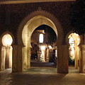 Archways At Night by Kim Chernecky