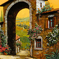 Arco Di Paese by Guido Borelli
