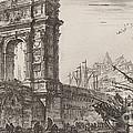 Arco Di Trajoano In Ancona by Giovanni Battista Piranesi