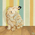 Arctic Hare In The Playroom by Angeles M Pomata