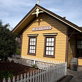 Ardenwood Historic Farm Railroad Station by Jason O Watson