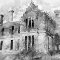 Ardtully Castle In Kilgarvan Ireland by Rob Huntley