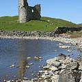 Ardvreck Castle Scotland by Mike Bambridge