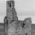 Ardvrek Castle 0945 Bw by Teresa Wilson