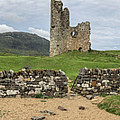Ardvrek Castle Panorama 0842 by Teresa Wilson