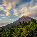 Arenal At The Sun's Last Touch by Rikk Flohr