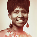Aretha Franklin I Say A Little Prayer by Anthony Murphy