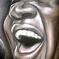 Aretha Franklin by Zach Zwagil
