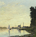 Argenteuil In Late Afternoon by Claude Monet