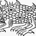 Argus Sea Monster, 1537 by Granger
