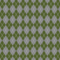 Argyle Diamond With Crisscross Lines In Paris Gray T09-p0126 by Custom Home Fashions