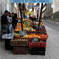 Arica Chile Fruit Stand by Brett Winn