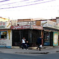 Arica Chile Street Corner by Brett Winn