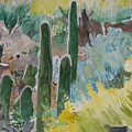Arizona Cacti by Holly Schussler