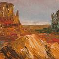 Arizona Desert by Lessandra Grimley