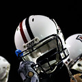 Arizona Football Helmets by University of Arizona