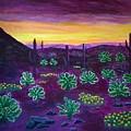 Arizona Landscape by Anne Sands