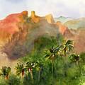 Arizona Palms by Amy Kirkpatrick