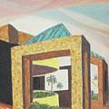 Arizona Park Building by Suzanne  Marie Leclair