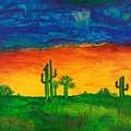 Arizona Rain by Dawn Nitsopoulos