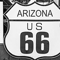 Arizona Route 66 Sign by Anthony Sacco