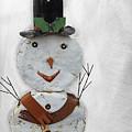 Arizona Snowman by Elisabeth Lucas