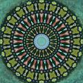 Arizona Splattered Mandala by Joy McKenzie