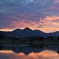 Arizona Sunset 2 by Renee Hong